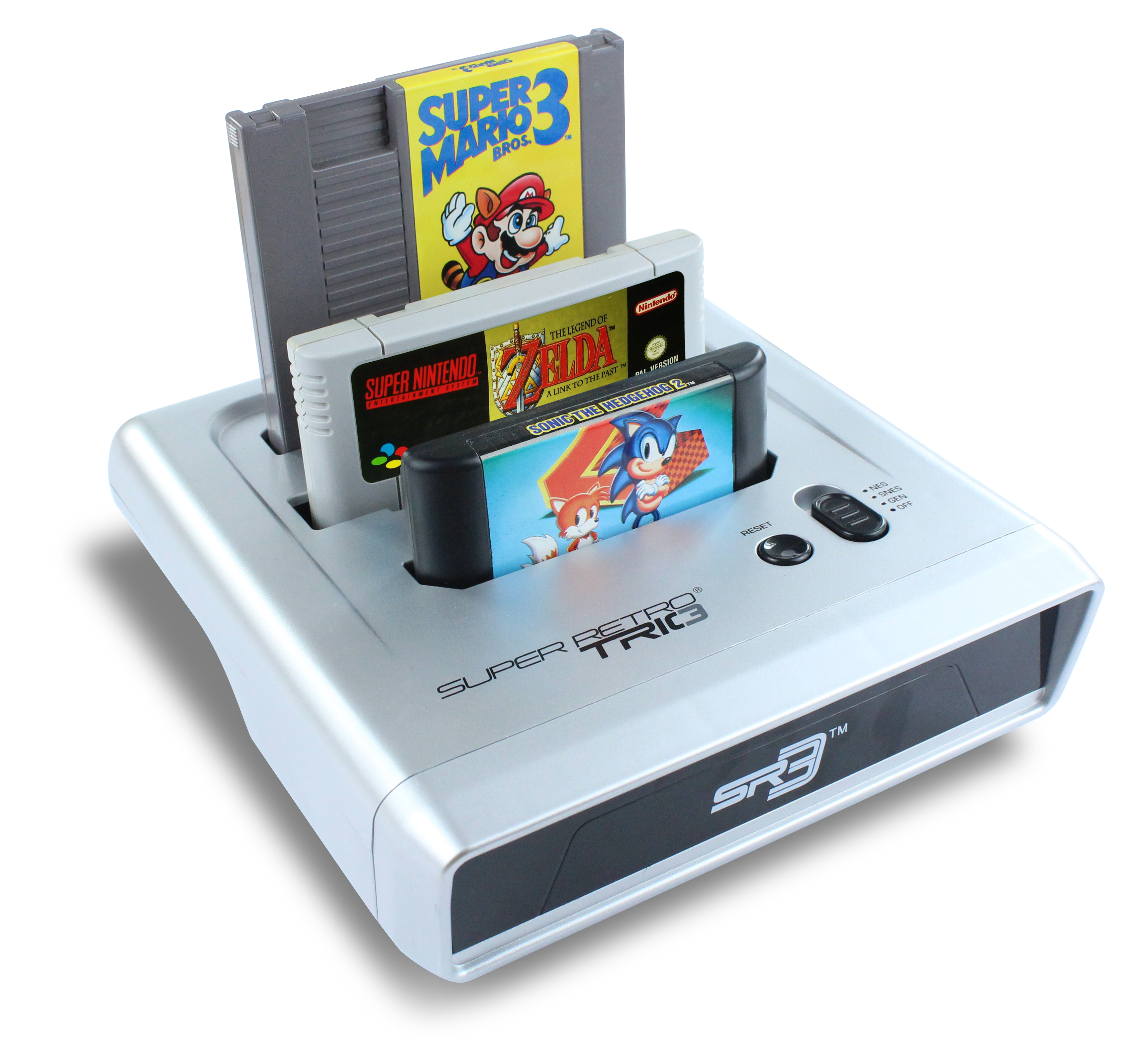 Got classic nintendo or sega cartridges but no console for What is console